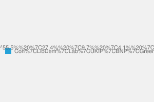 2010 General Election result in Saffron Walden